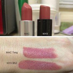 Top 16 MAC Lipstick Makeup DupesFacebookGoogle+InstagramPinterestTumblrTwitterYouTube