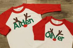 kids christmas shirt! @Anna Totten Harpe & @Gretchen Schaefer Lee we need to get matching shirts like this one year for the kids!