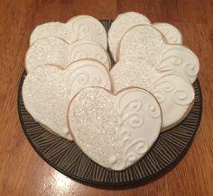 Beautiful Valentine's Day cookies