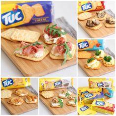 Top your TUC: 5 heerlijke variaties Easy Canapes, Marinated Mushrooms, Brunch, Picnic Foods, Stuffed Sweet Peppers, Egg Salad, Snacks, High Tea, Finger Foods