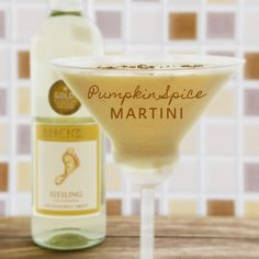 I can't wait to make this Pumpkin Martini!