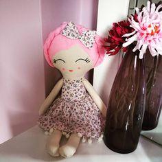 """""""#handmade #doll #handmadedoll #sewingforkids #baby #sewingdolls #oyuncak #bebek #bezbebek #elisi#dikiş #pembe #mor #ozeltasarim #insta #instagood…"""""""