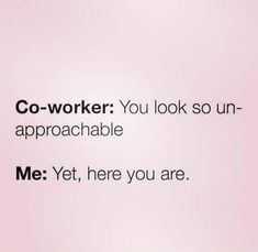 Tagged with funny, memes, introvert; Some introvert memes. Job Humor, Nurse Humor, Job Memes, Medical Humor, Ecards Humor, Life Memes, Funny Quotes, Funny Memes, Working Out Quotes Funny