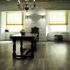 Create a warm rustic setting with the reclaimed wood effect of Aged Oak, from the Amtico Signature range at £70 sqr mtr available at Style Flooring of York 01904 289266 www.styleflooringofyork.co.uk  #amtico #signature #flooring #wood #inspiration #york
