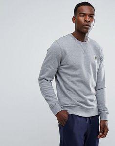 Lyle & Scott Logo Sweatshirt Gray Marl - Gray