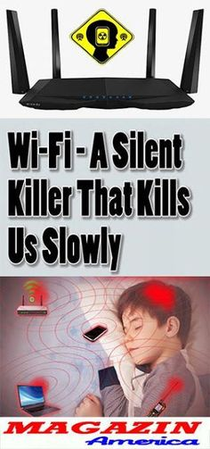 Wi-Fi: A Silent Killer That Kills Us Slowly – Natural Healthy World Fitness Tips, Health Fitness, Health Diet, Keeping Healthy, Self Help, Good To Know, Home Remedies, How To Plan, How To Make