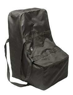 JL Childress Universal Side Carry Car Seat Travel Bag Black