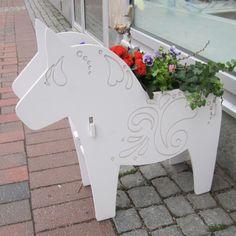 Dala Horse planter from Älvans Hanterk