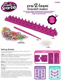 Cra-Z-Loom Instructions - Page 1