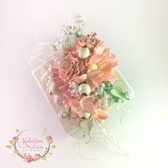 158. Exploding box #agnieszkacebula #foamiran #foam-iran #flowers #diy #explodingbox #KatarinaEwahandmade