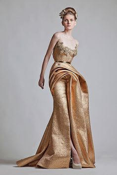 Krikor Jabotian  If i ever get to go to a really, really fancy party I'm wearing this designer. <3