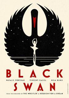 Black Swan Poster by La Boca
