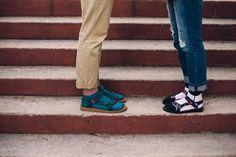 Tevas with socks. Socks with Sandals.