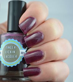 Finger Lickin' Lacquer On With the Show x1 $3 Fill line slightly below shoulder