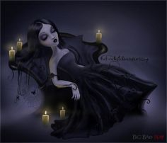 Lethargy by Irina Istratova (Russian Gothic Artist)