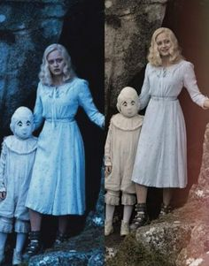 miss peregrine's home for peculiar children olive and jacob - Google Search