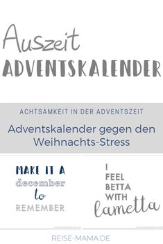 Mindfulness advent calendar against the Christmas stress - Calendar for mums, women and all those who enjoy and want to spend with less Christ - Christmas Tress, Winter Christmas, Vintage Christmas, Christmas Time, Holiday, Christmas Calendar, Diy Advent Calendar, Christmas Drinks, Christmas Quotes