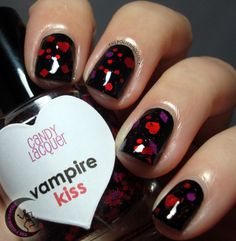 ThePolishHoochie: Candy Lacquer Vampire Kiss