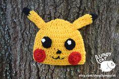Pikachu Beanie and Scarf