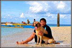 A day of fun with our labrador retrievers at Samal Islands Philippines http://www.journey-ni-ikoy.com/2013/01/theyre-happy-were-tired.html
