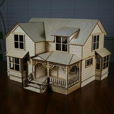 Crockett Victorian Dollhouse Victorian Dollhouse,