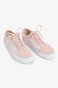 9320b4f2e Vans Old Skool Suede Women's | Shoes | Vans old skool, Pink vans old ...
