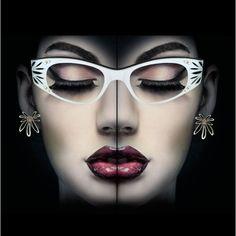 """Cat Eye Glasses"" by vintageeyeglasses on Polyvore"
