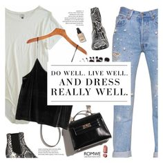 """""""Do Well"""" by fee4fashion ❤ liked on Polyvore featuring Off-White, Forte Couture, Isabel Marant, Levi's, Bobbi Brown Cosmetics and Chanel"""