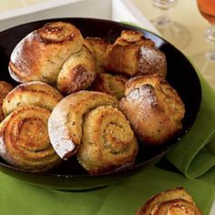 No-Knead Overnight Parmesan and Thyme Rolls Recipes | CookingLight.com