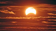 In case you missed it: Yesterday's partial solar eclipse
