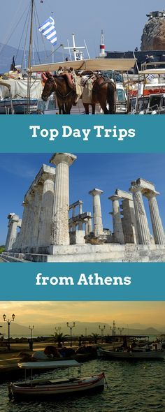 Top day trips from Athens Greece!                                                                                                                                                                                 More