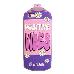 Positive Vibes ($10) ❤ liked on Polyvore featuring accessories, cases, phones, electronics and tech