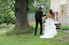 Bride & Groom, weddingdress