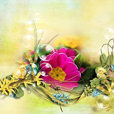 """ Easter in my garden "" by Designs by Brigit"