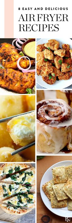 15 Easy and Delicious Recipes You Can Make in an Air Fryer #purewow #recipe #food #breakfast #cooking #side dish #dinner #dessert
