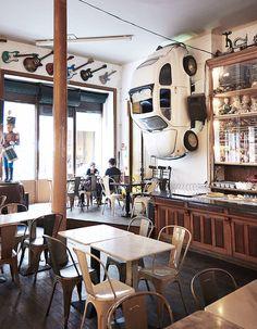 Un café-resto Galeria de Paris
