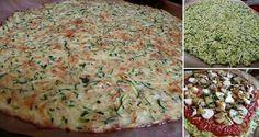 Fitness pizza s cuketovým těstem bez mouky z níž nepřiberete!