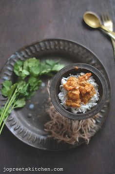 Anjeer Jhinga (Prawns cooked with Dried Figs)  http://www.jopreetskitchen.com/2013/08/anjeer-jhinga-prawns-cooked-with-dried.html