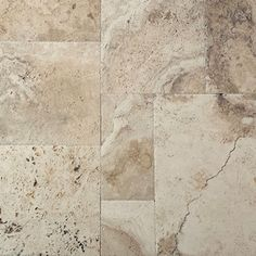 Versailles pattern Chiseled Brushed Travertine Picasso