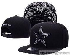 d47c83698 Dallas Cowboys Black Snapback Hats Brim Paisley Pattern Dallas Cowboys Hats