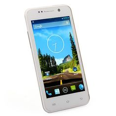 THL W100 4.5 Inch 4G ROM Android 4.2 Quad Core Smartphone White