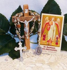 Unbreakable Chaplet of St. Raphael the Archangel by foodforthesoul, $26.95