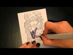Copic Tutorial-Shading with Gray