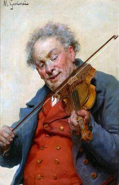 Michele Garinei (1871-1960). Violinist