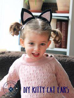 Kitty Cat Ear DIY