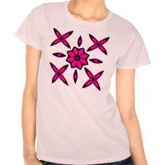 かわいい|幾何学的|デザイン T シャツ
