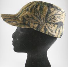 Vintage Adult Cap Runs Small! Camouflage Camo Fleece Lined Realtree Hunting OSFA #Unknown