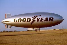 Lawton Oklahoma - Goodyear Blimp - 1983 by duggar11, via Flickr