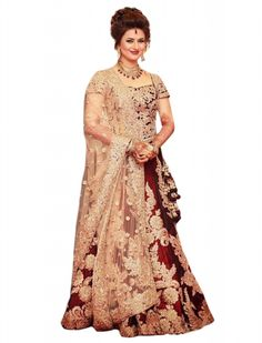 Buy Divyanka Tripathi Red Color Replica Lehenga Choli in Silk Fabric Online at cheap prices from Shopkio.com: India`s best online shoping site