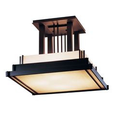 steppe large semi-flush | ceiling light